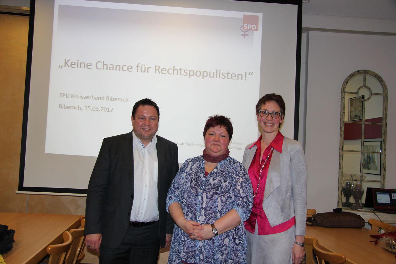 Martin Gerster Andrea Schiele und Dagmar Neubert-Wirtz